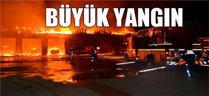 Adana'da büyük yangın
