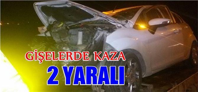 Mersin-Tarsus otoyolunda kaza: 2 yaralı