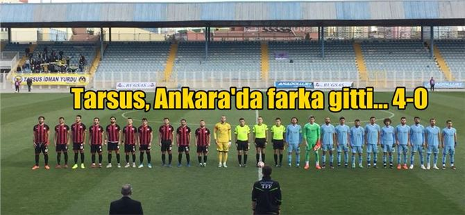 Tarsus İdmanyurdu, Adliyespor'u 4-0'la geçti