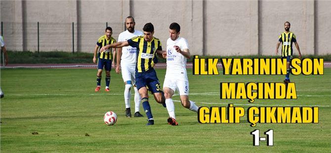 Tarsus İdmanyurdu 1-Sultanbeyli Belediyespor 1