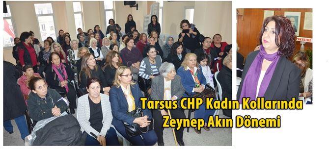 Tarsus CHP Kadın Kollarında Zeynep Akın Dönemi