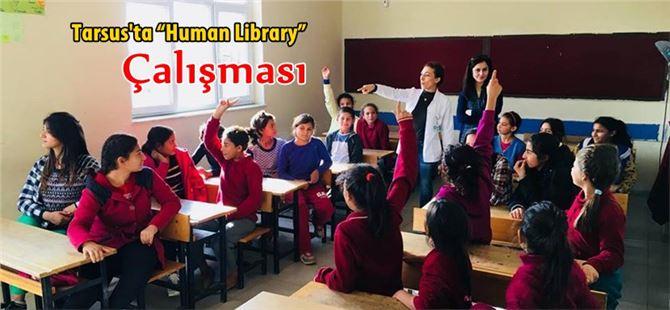 """Tarsus Akgedik Ortaokulu'nda """"Human Library"""" Çalışması"""