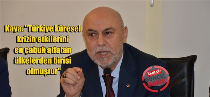 Başkan Murat Kaya, ekonomik değerlendirmede bulundu
