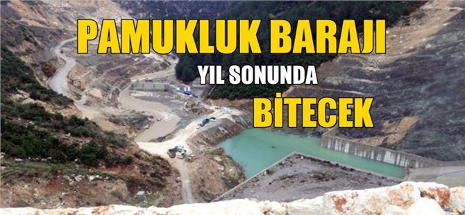 Tarsus Pamukluk Barajı yıl sonunda bitecek