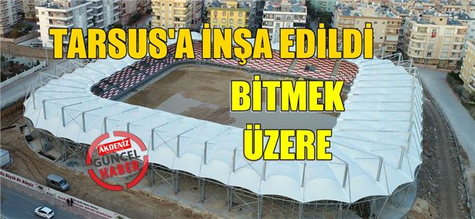 Tarsus'taki Gösteri Merkezi İnşaatında Sona Gelindi