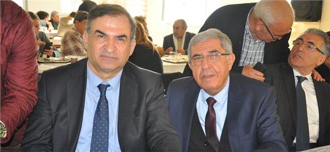 Sarpkaya'dan Başkan adayı Dövenci'ye destek