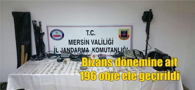 Bizans dönemine ait 196 obje ele geçirildi
