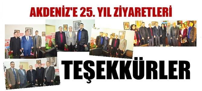Akdeniz Gazetesi 25. yayın yılına girdi