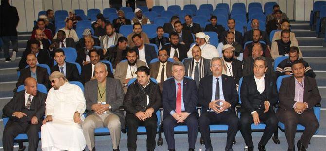 Arap iş dünyası heyeti MTOSB'yi ziyaret etti