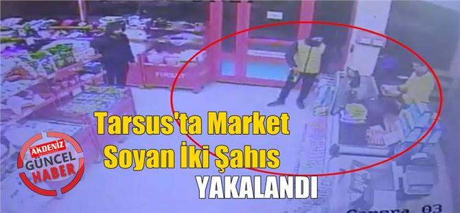 Marketi silahla soyan 2 şüpheli paraları harcayamadan yakalandı