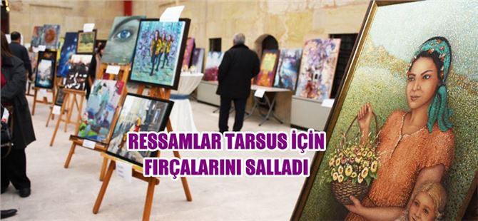 Ressamlar Tarsus için fırçalarını salladı