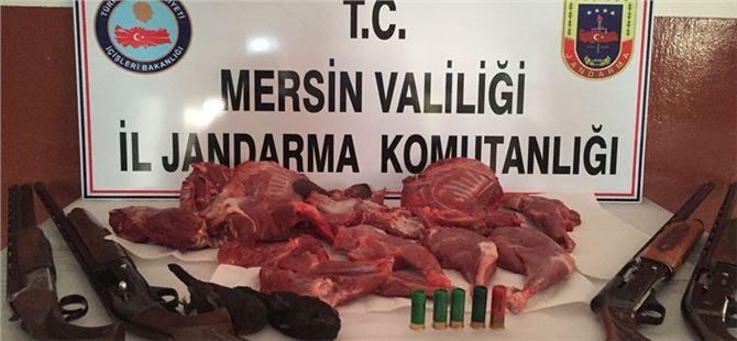 Mersin'de kaçak avcılara 36 bin TL ceza