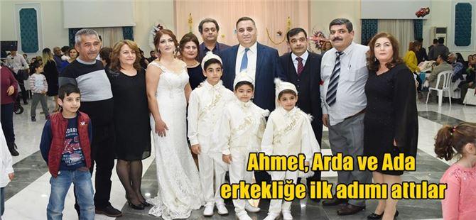 Ahmet, Arda ve Ada erkekliğe ilk adımı attılar