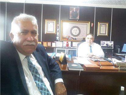 Mehmet Bolat'tan Ziya Güçoğlu'na Ziyaret