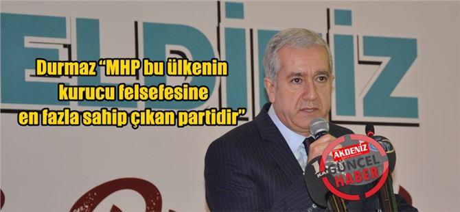 MHP Genel Başkan Yardımcısı Durmaz Tarsus'ta