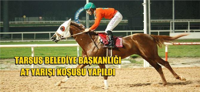 Tarsus Belediye Başkanlığı At Yarışı Koşusu Yapıldı