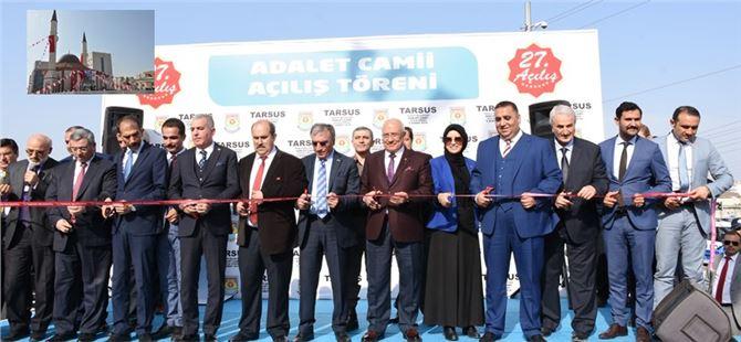 Adalet Camii ve Taziye Evi Açılışı Yapıldı