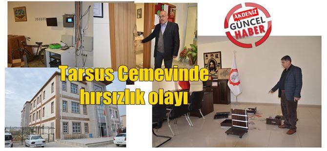 Tarsus'ta Cemevi'nde hırsızlık olayı