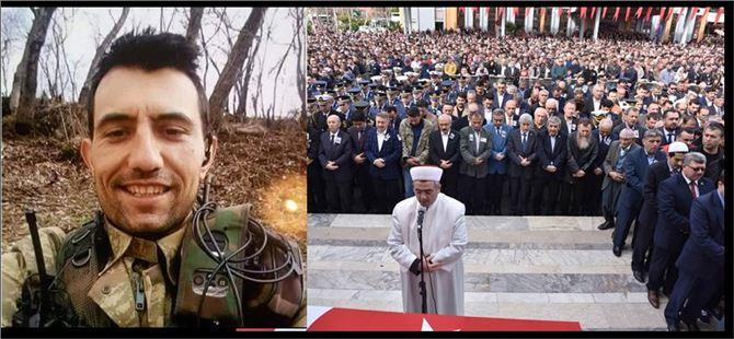 Şehit Hasan Kuş Binlerin Katıldığı Törenle Vatan Toprağına Emanet Edildi