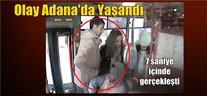 Adana'da 7 saniye içinde inanılmaz olay gerçekleşti