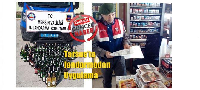 Tarsus'ta Jandarmadan Uygulama
