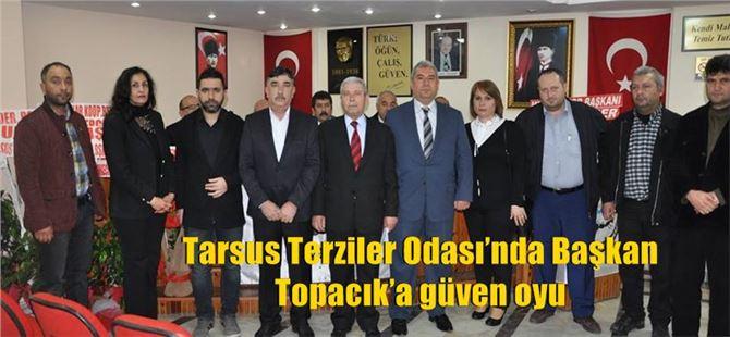 Tarsus Terziler Odası'nda Başkan Topacık'a güven oyu