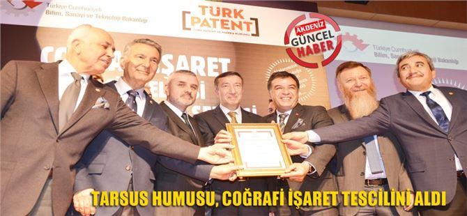 Tarsus Humusu, Coğrafi İşaret Tescilini Aldı