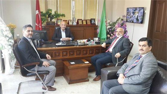 Tarsus Müftüsü Erenay, Başkan Ergezer'i ziyaret etti