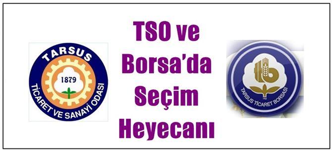 Tarsus TSO ve Borsa'da Seçim Heyecanı