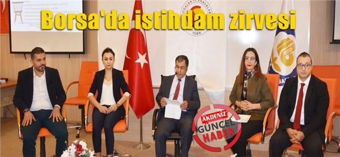 Tarsus Ticaret Borsası'nda istihdam zirvesi