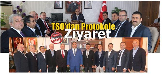 Tarsus TSO'dan protokole ziyaret
