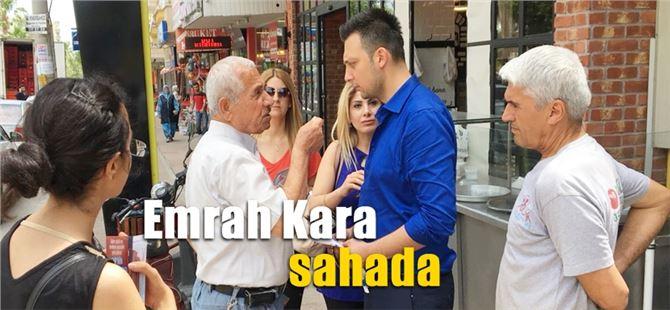 """CHP'nin Genç adayı Emrah Kara: """"Adım adım iktidara geliyoruz"""""""