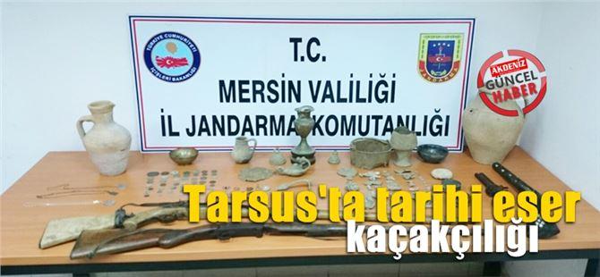 Tarsus'ta tarihi eser kaçakçılığı