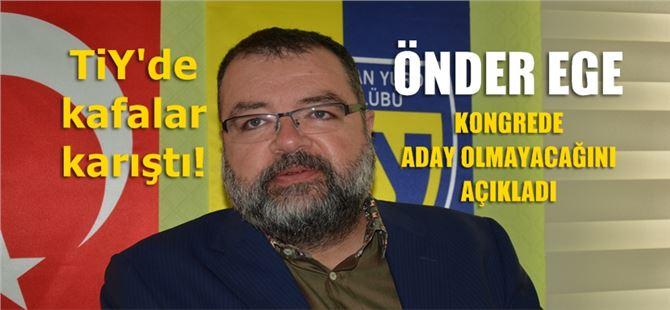 Önder Ege, yeni dönemde aday olmayacağını açıkladı