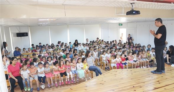 Cumhuriyet Anaokulu Öğrencileri Su Tasarrufu Eğitimi Aldı