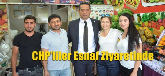 CHP'liler Esnaf Ziyaretinde