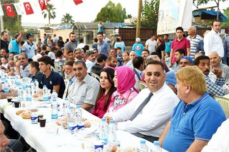 Belediye Şahin Mahallesine İftar Sofrası Kurdu