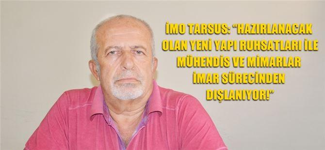 Tarsus İMO'dan açıklama