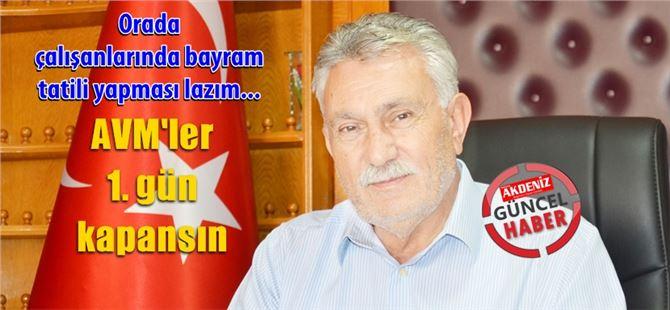 Başkan Erdoğan Yalçın'dan bayram öncesi AVM vurgusu