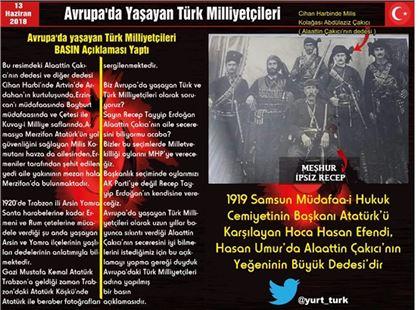 Avrupa'da Yaşayan Türk Milliyetçilerinden Basın Açıklaması