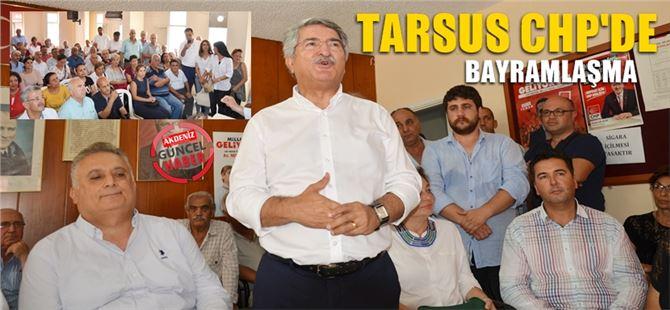 Tarsus CHP'de Bayramlaşma programı düzenlendi