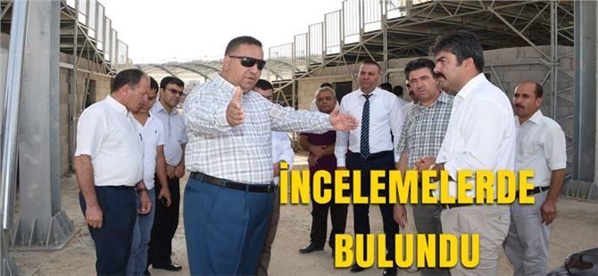 """Başkan Can, """"Projelerimizle Şehrimizin Çehresini Değiştiriyoruz"""""""