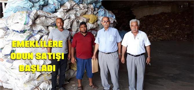 TÜED üyesi emeklilere uygun koşullarda odun satışı başladı