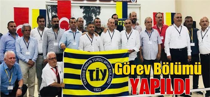 Tarsus İdman Yurdu Spor Kulübü Görev Dağılımını Yaptı