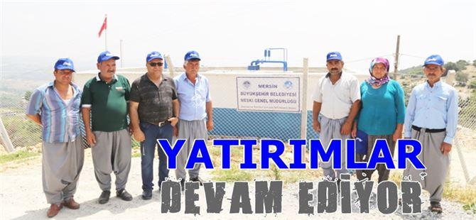 Tarsus'ta içmesuyu yatırımları devam ediyor
