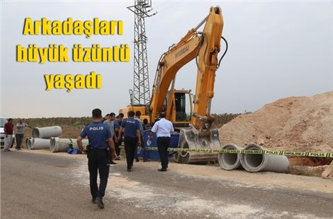Toprak kayması sonucu 1 işçi öldü