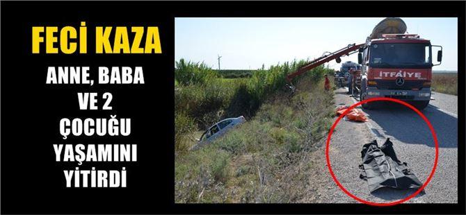 Feci kaza, anne ve baba ile 2 çocukları öldü