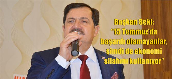 TÜRKAV Tarsus Şube Başkanı Abdullah Seki'den çağrı