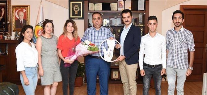 Gençlik Meclisi Yöneticilerinden Başkan Şevket Can'a Ziyaret