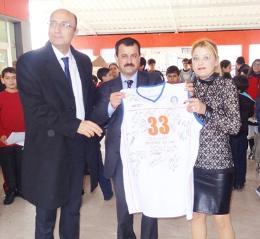 Tarsus Koleji, Basketçileri Ağırladı